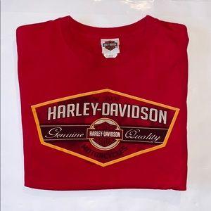 Harley-Davidson Large Red Tee